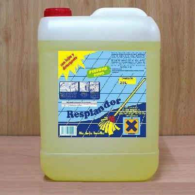 Fabricación de etiquetas para productos de limpieza